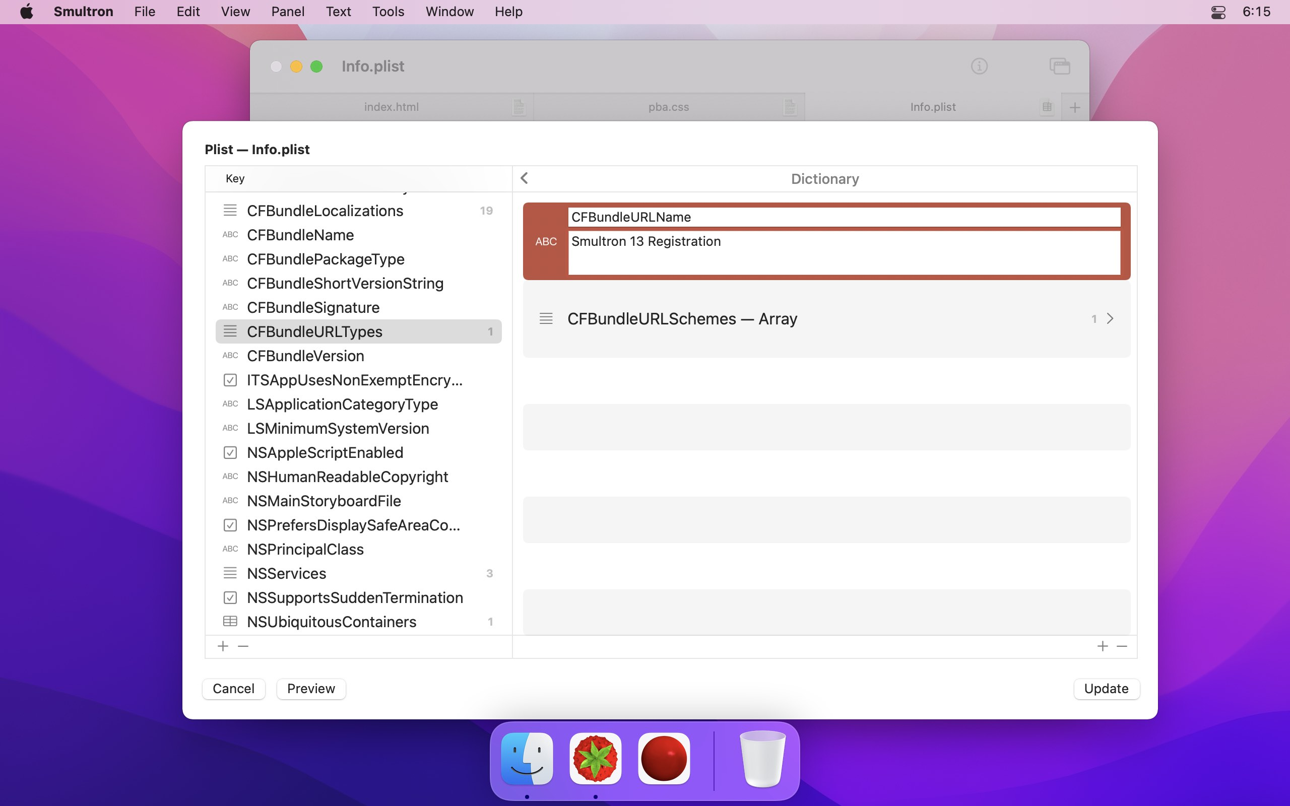 Smultron - Peter Borg Apps